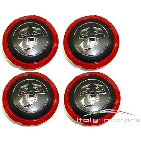 Original Fiat 500 500c Abarth Wheel Centre Caps Set Of 4 51820507 Auto