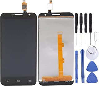 ZHANGTAI Sparts Parts LCD Screen and Digitizer Full Assembly for Alcatel One Touch Idol 2 Mini / 6016 / OT6016 / OT6016D / OT6016X(Black) Repair Flex Cable (Color : Black)