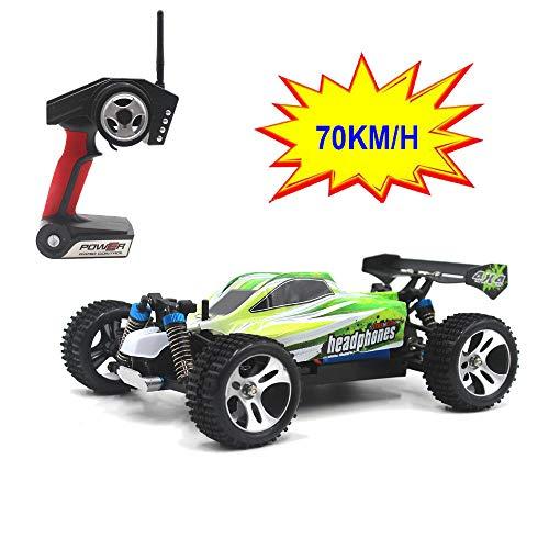 MaanZys 4WD Buggy Off Road 1.18 RC Car 70km / h 2.4G Radio Control Truck RTR High-Speed-Offroad-Profi Fahrzeug Spielzeug Renn