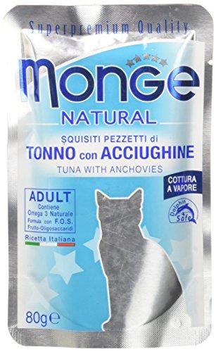 Monge Buste Tonno/Acciughine Gr. 80