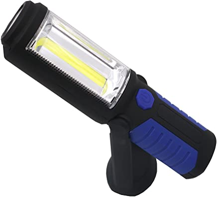 Yaxuan LED-Taschenlampe Neue Multi-Function COB Built-in Batterie USB Charging Work Light Outdoor Lighting Camping Light Emergency Light,Blau B07NL2X7KC       Hohe Qualität Und Geringen Overhead