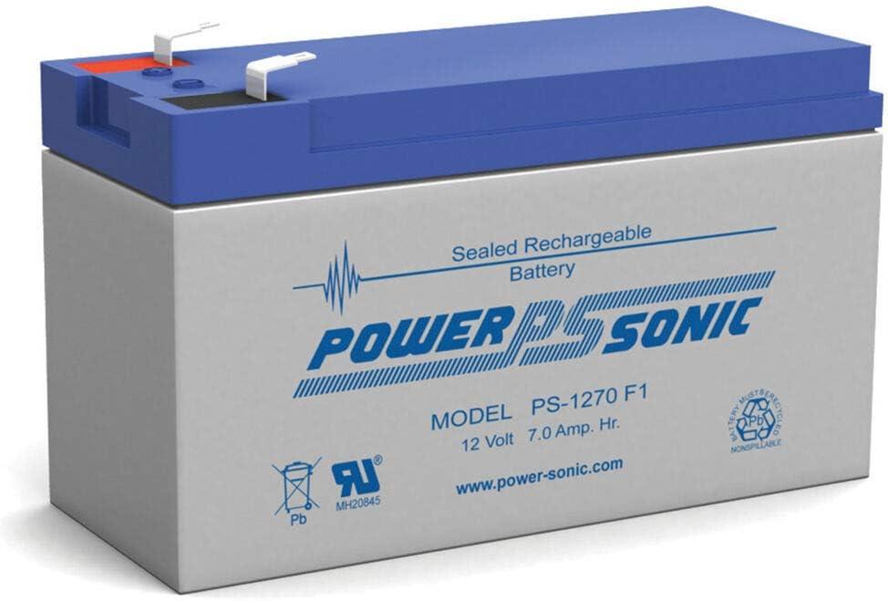 Discount mail order BATTERY Ranking TOP12 Power-Sonic 12V 7AH CY-0112 EACH CYCLOPS F1 SPOTLIGHT