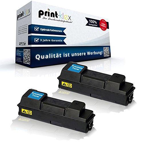 2x Kompatible Tonerkartuschen für Kyocera FS4020DN 1T02J20EU0 TK-360 TK360 TK 360 Black Schwarz - Office Pro Serie
