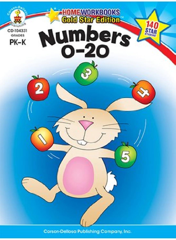 Carson Dellosa CD-104331 Numbers 0-20 Startseite Workbook Gr Pk-K B009TE94KA  |  Neuer Markt