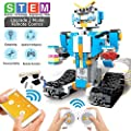 Stem Projects for Kids Ages 8-12 Remote Control Remote & APP Controlled Gear Robotics Kit -351 Pieces Building Toys for 8,9,10,11,12 Year Old Boys and Girls