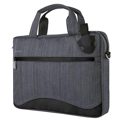 Vangoddy Nylon Shoulder Bag (Black) for Lenovo 15.6 Laptop