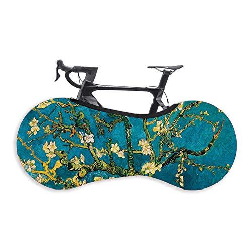 Fahrradabdeckung staub- Fahrradaufbewahrungstasche bicycl Staub MTB Rennrad Fahrrad-Rad Anhänger Innen-Staubabdeckung Beutel Kratzer Abdeckung Fahrrad Fahrrad Staub Fahrradschutzhülle Sternenhimmel In