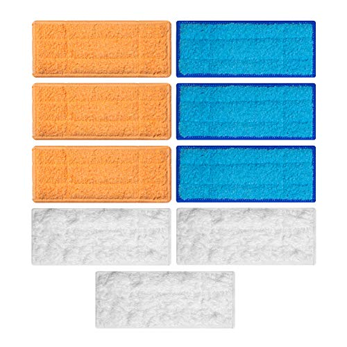 Lowest Price! BESKIT 9 Packs Mopping Cloths Replacement Compatible with iRobot Braava Jet 240 241 Ro...