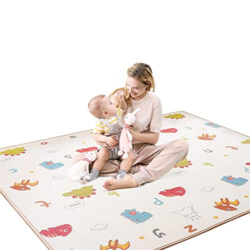 Sale!! XUROM Baby Play Mat Baby Play Mat Baby Crawling Mat Thick Non-Toxic Double-Sided Waterproof S...