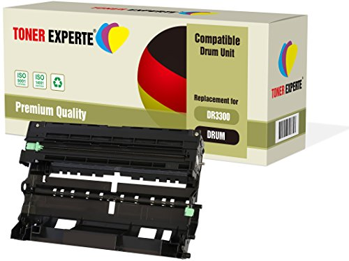 TONER EXPERTE® Trommel kompatibel zu DR3300 (30000 Seiten) für Brother HL-5440D HL-5450DN HL-5470DW HL-6180 HL-6180DW MFC-8510DN MFC-8520DN MFC-8950 MFC-8950DW MFC-8950DWT DCP-8110 DCP-8110DN DCP-8250