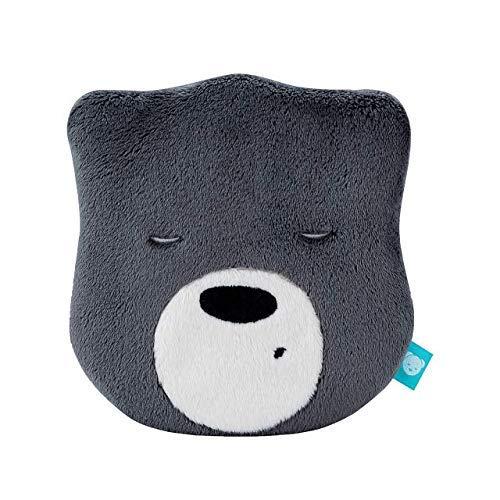myHummy Einschlafhilfe Baby Bär Mini dunkelgrau | White Noise Baby Einschlafhilfe Kinder zur Baby Beruhigung ab 0 Monate | My hummy Mini Einschlafhilfe Babys mit sanftem Ausklingen nach 1 Stunde