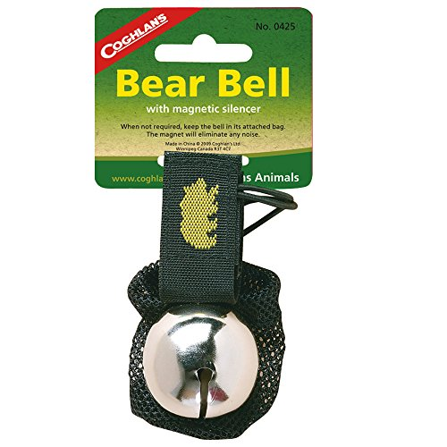 Coghlan's 2-Pack Bear Bell with Magnetic Silencer