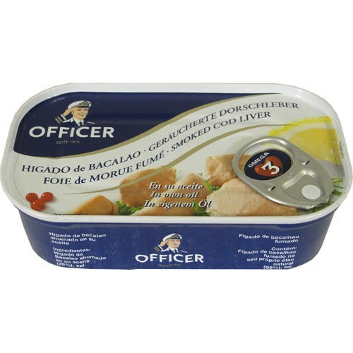 Officer Smoked Cod Liver 4.26 oz (4 PACK)
