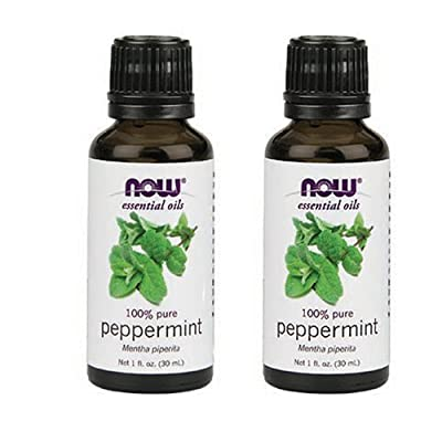 Aroma: Fresh, strong mint NOW Foods
