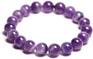 FG Jewels Bracelet Homme/Femme Pierres Naturelles Lithothérapie Bracelet Améthyste Naturelle Bracelet Perles 8mm Bracelet ...