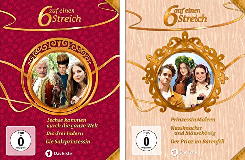 Sechs auf einen Streich - Märchenbox, Vols. 12+13 (6 DVDs)