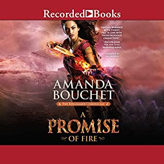A Promise of Fire audiobook cover art