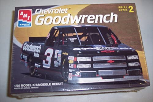 8243 AMT Ertl Mike Skinner  3 Goodwrench Chevrolet Nascar Truck 1 25 Scale Plastic Model Kit,Needs Assembly by AMT Ertl