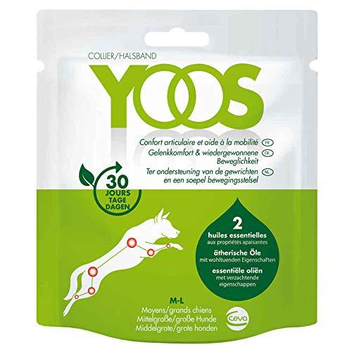 YOOS - Collier pour chien - Soulage les Douleurs Articulaires - Meilleur mobilité - Grands Chiens > 10kg