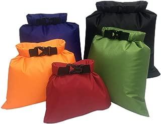 Bolsa Estanca, Bolsa Impermeable, Bolsas Estancas, Bolsa Estanca Impermeable, Bolsa Seco, Ligero, Ultra Ligero, para Kayak, Senderismo, Viaje, Bicicleta, Surf, 5pcs (1.5L / 2.5L / 3.5/4.5L / 6L)