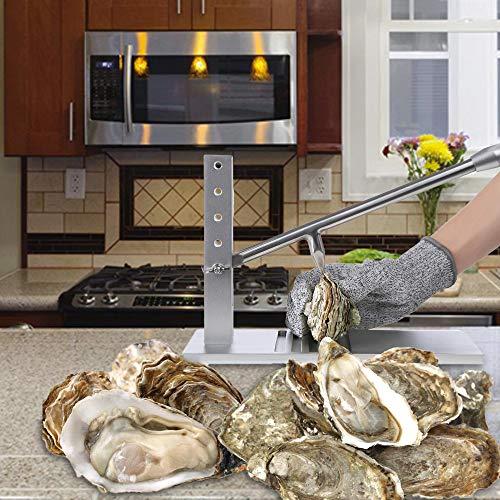 Hoomuda Oyster Shucker- Oyster Opener and Knife Set (Oyster Opener...