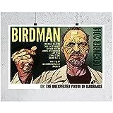 Qqwiter Birdman Michael Keaton USA Held Filmplakate und