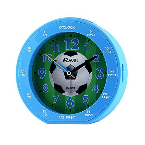 Ravel - Blue Football Time Teacher Childrens Alarm Cl