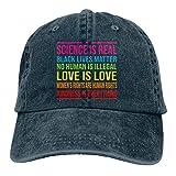 LsjueeGorra para Hombres y Mujeres, Black Lives Matter Gorra de Jeans Ajustables de algodón Unisex