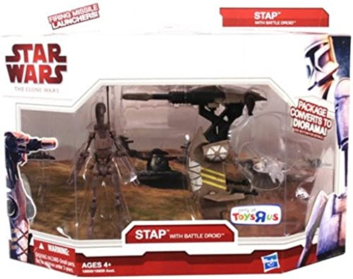 Star Wars The Clone Wars STAP with Battle Droid 18608
