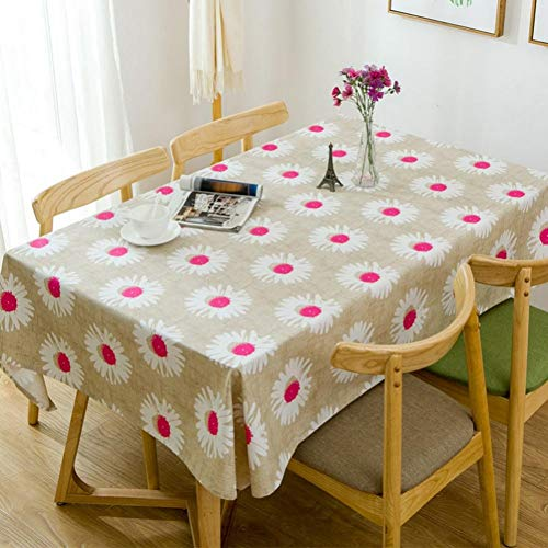 ZWBBO Tafelkleed huisdecoratie Tafelkleed Katoen Sample Bedrukte Tafelhoes Canvas Zon Koffie Tafelkleed Voor Thuis Restaurant Party Decoratie