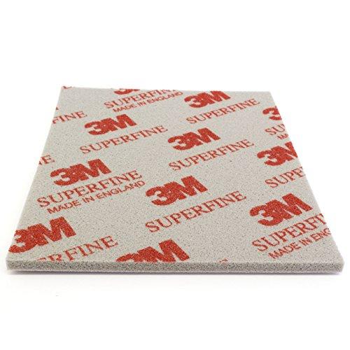 DonDo 3M Soft Pad Schleifpad Schleifschwamm 1 Stück 03810 Superfine superfein P400-P500 Korn 200
