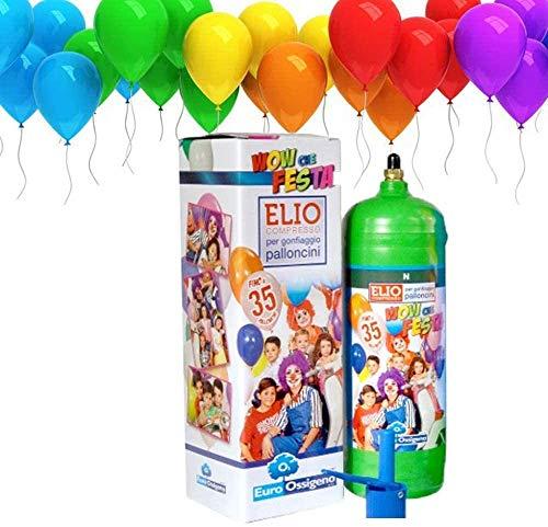 Selección variti desde 1956 - Bombona de helio para inflar globos – 35 globos de regalo