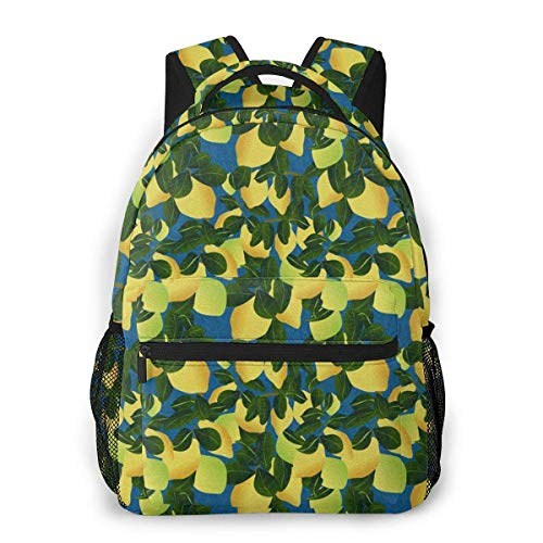 Boys Girls Casual Backpack,Laptop Bags,Men Women Daypack,Lightweight College Book Bags,Adult Travel Rucksack,Lime