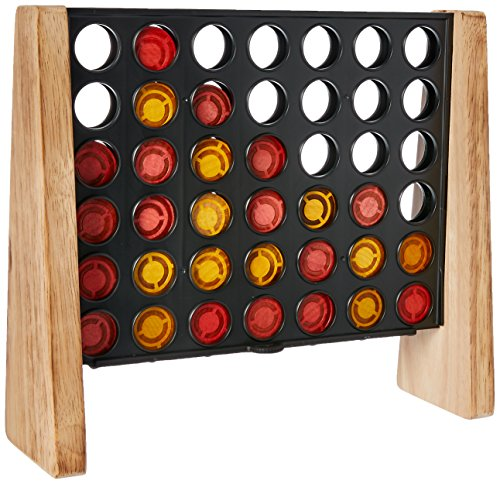 Connect 4 Game: Rustic Series Edition