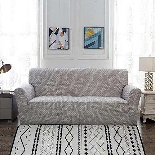 wjwzl Sofabezug für Chaiselongue, rutschfest, elastisch, für Wohnzimmer-Sofa, Q-Druck, 1 W