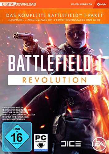 Battlefield 1 - Revolution Edition - [PC] - [Code in a box - enthält keine CD]
