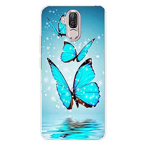 Easbuy Handy Hülle Soft TPU Silikon Hülle Etui Tasche für Ulefone Power 3 / Ulefone Power 3S Smartphone Bumper Back Cover Handytasche Handyhülle Schutzhülle