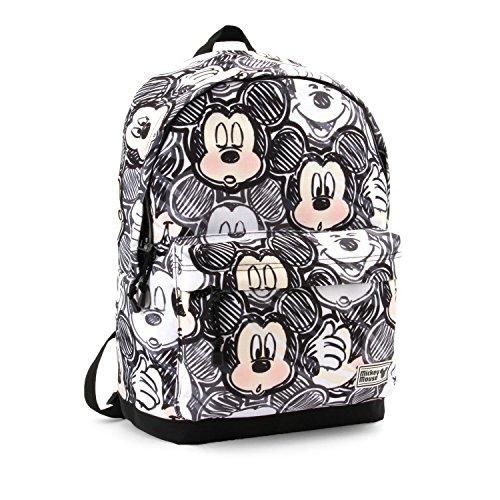 KARACTERMANIA Disney Classic Mickey Oh Boy-HS Backpack Rucksack, 44 cm, 23 liters, Schwarz (Black)