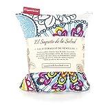 Saco Térmico de Semillas aroma Lavanda, Azahar o Romero tejido Flores Multicolor (Sin Aroma, 23_cm)