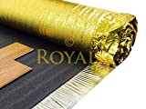 30m² Deal - Royale Sonic Gold 5mm Comfort Underlay for Laminate or Wood