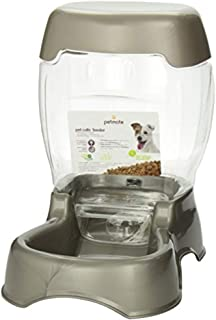 PETMATE Pet Cafe Feeder - 12 lbs, Pearl Tan, 12 pounds
