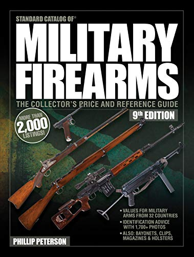 Compare Textbook Prices for Standard Catalog of Military Firearms, 9th Edition: The Collector's Price & Reference Guide 9 Edition ISBN 9781946267986 by Peterson, Philip