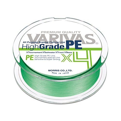VARIVAS HighGrade PE x4 (Flash Green, 150m 15lb. (#0.8))