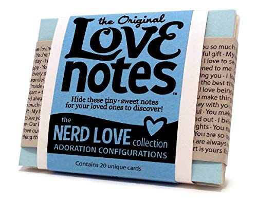 Original Love Notes - NERD LOVE Collection - Sweet little handwritten-style cards to show your special people how you feel