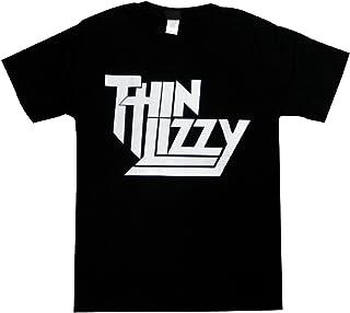 シン・リジィ/THIN LIZZY/ジェイル・ブレイク/JAIL BREAK/黒/メンズ/レディース/ロックTシャツ/バンドTシャツ