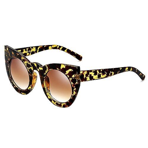 9735805cb9 BOZEVON Women s Fashion Retro Party Cat Eye Style Sunglasses Cute Gradient  Color Lens Eyewear