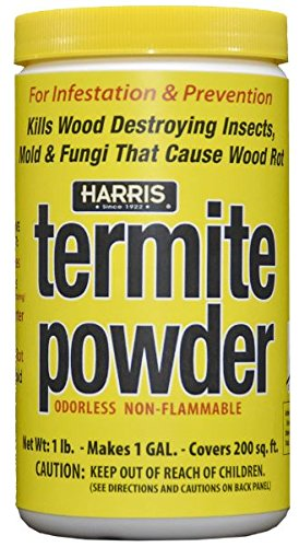 HARRIS Termite Treatment and Mold Killer, 16oz Powder, Makes 1 Gallon Liquid Spray for Preventing,...
