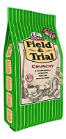 DIETARY NEEDS - Field & Trial Crunchy is a nutritionally complete dog food, specially formulated to support dogs who are regularly working at a moderate to high activity intensity. With its slightly larger cubed kibble, Crunchy can be a good choice t...
