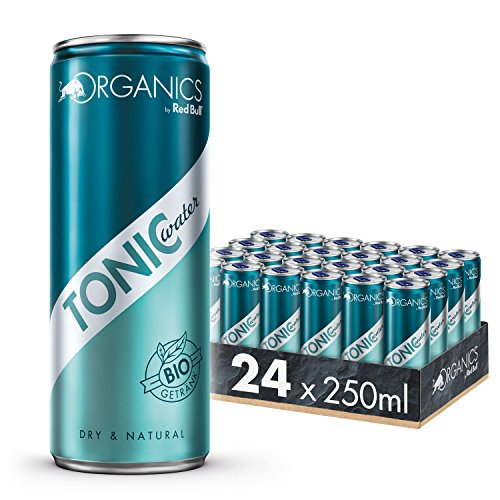 Organics by Red Bull Tonic Water Dosen Bio, 24er Palette, EINWEG (24 x 250 ml)
