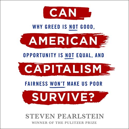 Can American Capitalism Survive? audiobook cover art